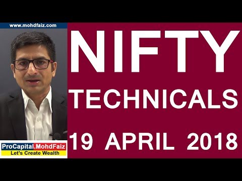 NIFTY TECHNICALS 19 APRIL 2018