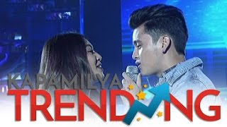 James and Nadine sing Closer