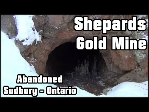 Abandoned Shepard's Gold Mine And Forgotten Tunnels - Sudbury Ontario