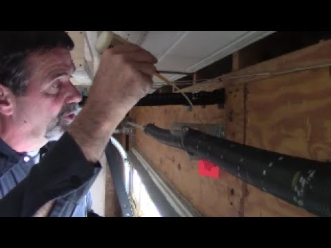 Garage Door Parts To Lubricate Clean Every Year Use Oil Grease