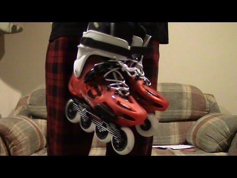 Unbxng- Rollerblades Twister LE Red Urban Inline Skates