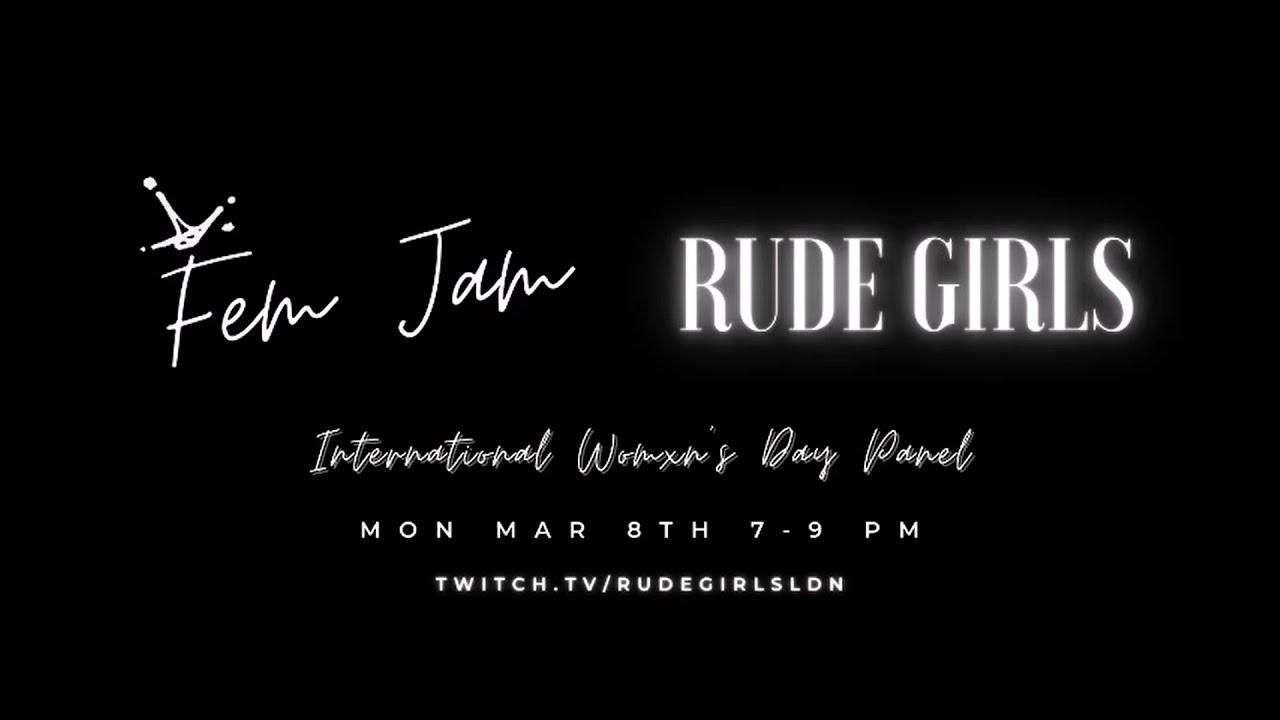 Fem Jam 3.0 International Women's Day Panel