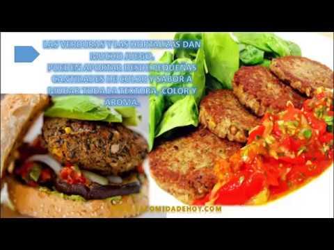 Receta de Hamburguesa Vegana | Hamburguesa Vegetariana Receta