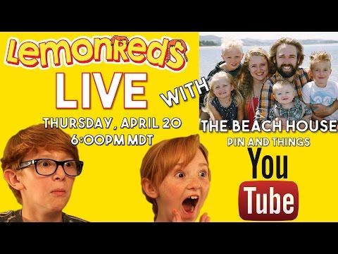 LemonReds Live with The Beach House / Pins and Things - Movie Challenge Time