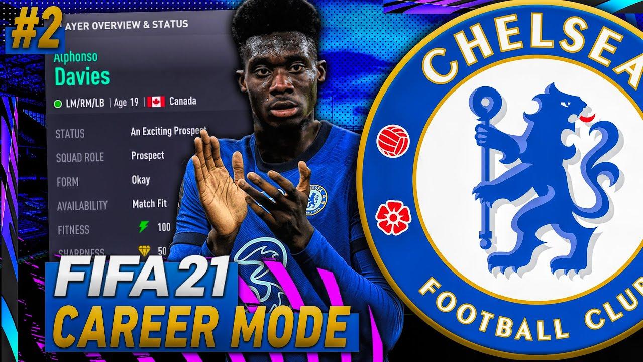 WE SIGNED ALPHONSO DAVIES! ?? FIFA 21 Chelsea Career Mode