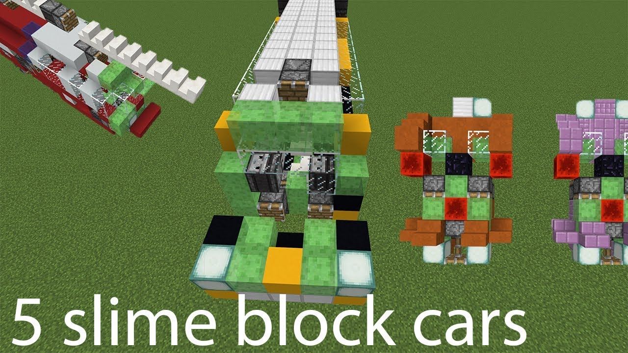 How To Build A Slime Block Car