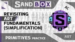 (Человек Упрощение) Сессия 51 - Creative Sandbox [RUS/eng] (Пересмотр основ рисования)
