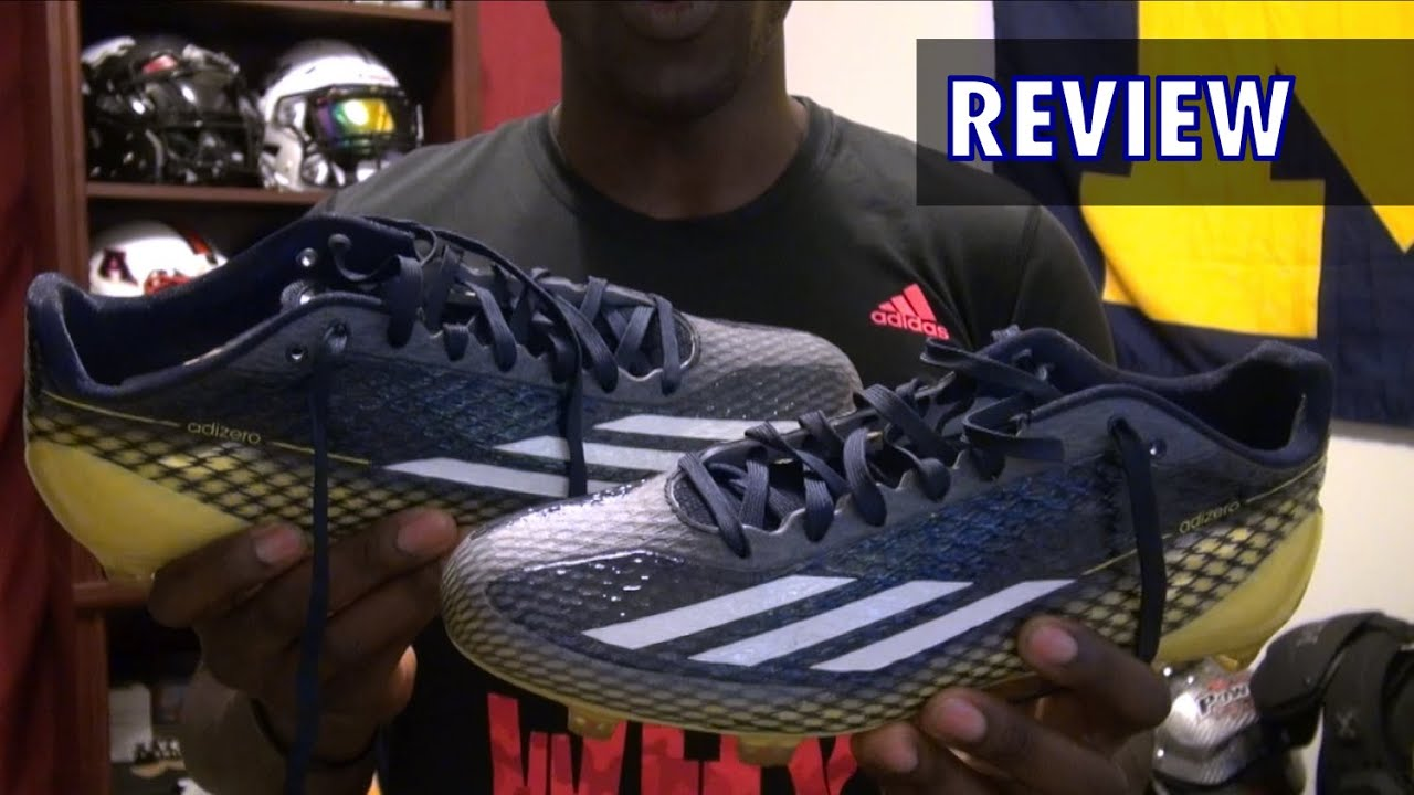 promo code 90f2f e4a52 Adidas Adizero 5-Star Football Cleats Review - Ep. 179