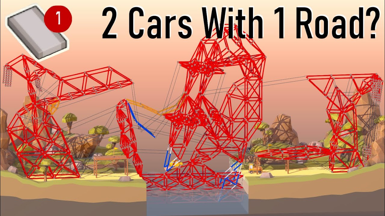 Download Can You Use One Road to Deliver Two Cars in Poly Bridge 2?
