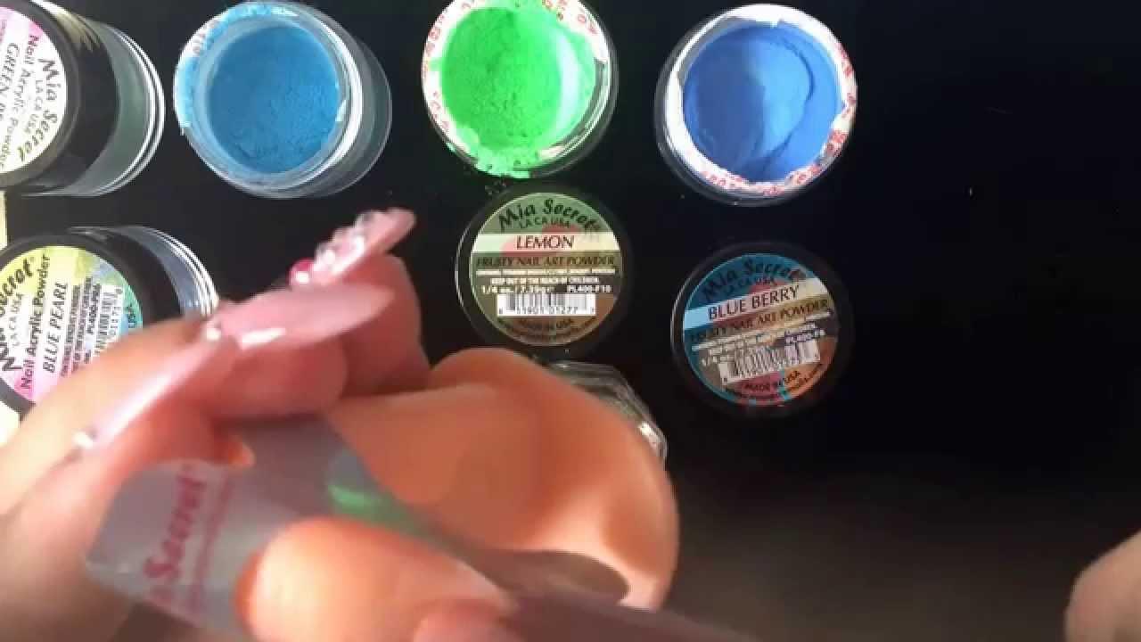 Como Hacer El Color Turqueza Con Las Colecciones De Mia Secret Youtube