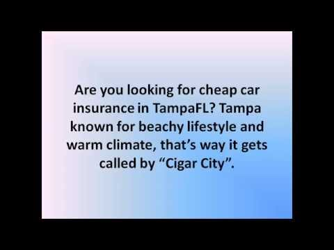 Looking for Cheap Car Insurance in Tampa FL? - Car Insurance Tampa Florida