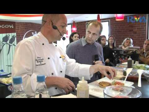 видео: Шеф повар burger king представляет гриль технологию