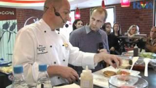 Шеф повар Burger King представляет гриль технологию