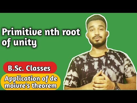 Primitive Nth Root Of Unity Definition | Primitive Nth Root Of Unity Example | (Part-7)