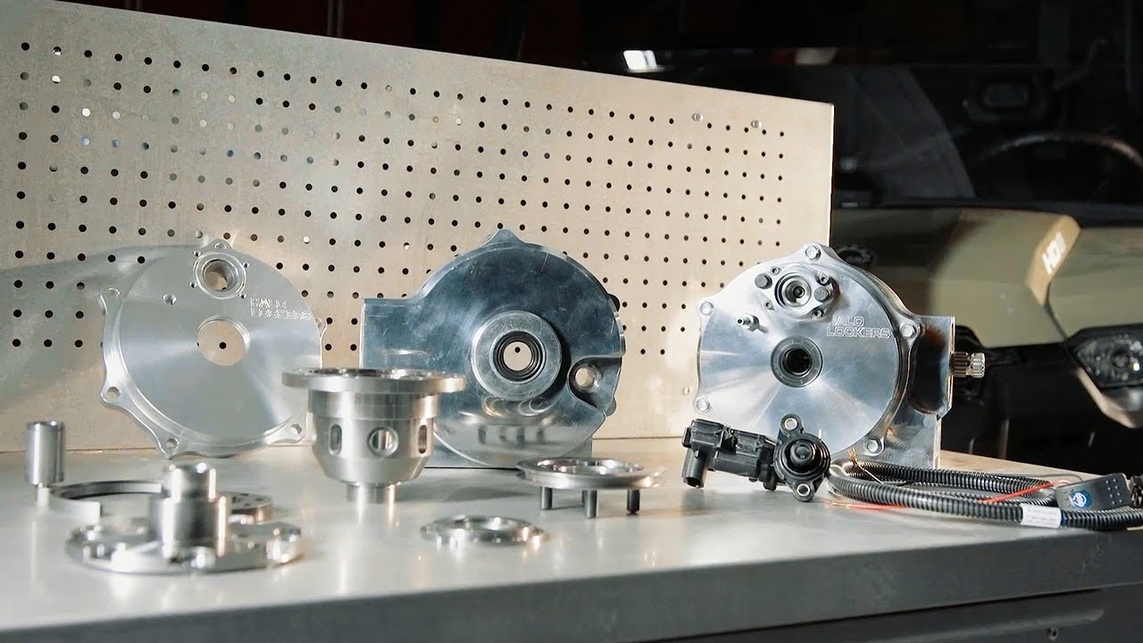 Halo Lockers' Locking Differential by Dirt Trax Television