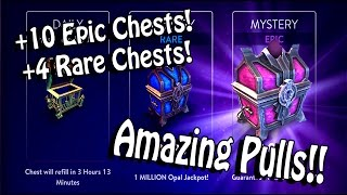 Vainglory +10 Epic And +4 Rare Chest Openings!!