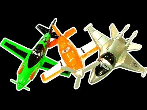 Disney Planes Dark Side Knock Off Toys Ep 1 Dusty, Chupacabra, Zed, Bravo, Ripslinger Smashing