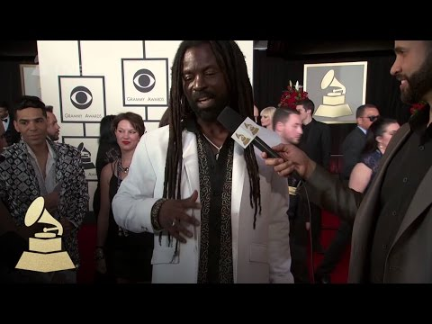 0 - Watch: Rocky Dawuni at the 58th GRAMMYs Red Carpet