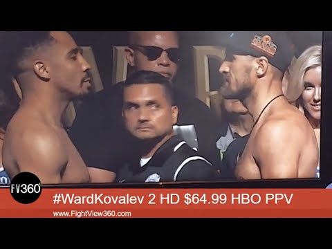 WARD VS KOVALEV 2 WEIGH IN LIVE & PREVIEW SHOW 6/16/17! WARD VS KOVALEV 2 HBO PPV 6/17/17!