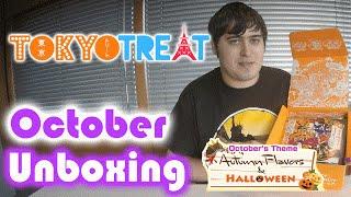 Tokyo Treat Unboxing - Autumn Flavours & Halloween - October 2016