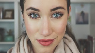 EASY EVERYDAY WINTER MAKEUP TUTORIAL | ALLIE G BEAUTY