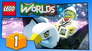LEGO WORLDS GAMEPLAY - Lego Game Like Minecraft - PC Walkthrough Part 1 | Pungence