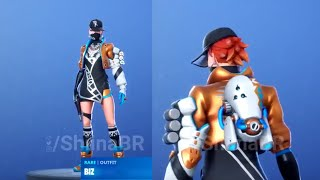 New fortnite leaked ingame skin/back bling season 9 - Biz skin - Roughneck set