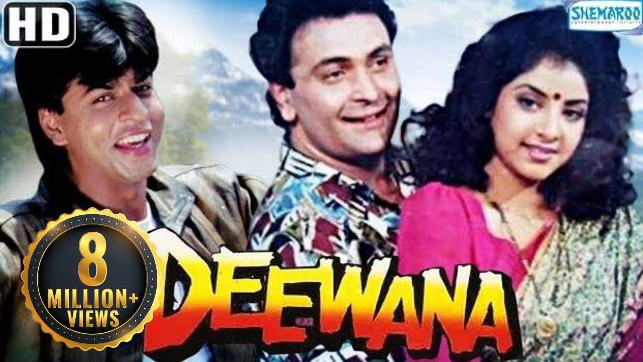 Deewana Hd Hindi Full Movie In 15mins Shah Rukh Khan Rishi Kapoor Divya Bharti