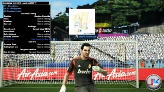 PES2013 Gameplay tool : real-time textures switch (test)