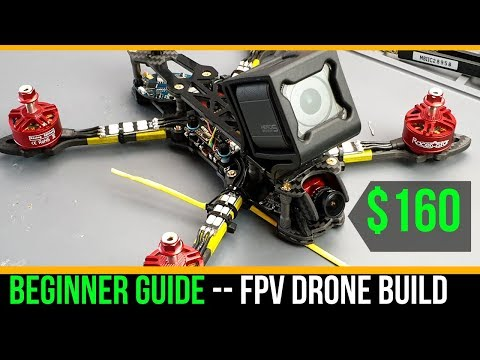 Beginner Guide // How To Build Budget Cinematic FPV Drone 2019