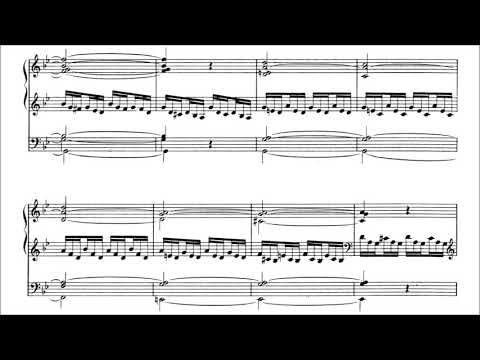 Dupré - Prelude and Fugue in G minor op. 7 no. 3 (with score)
