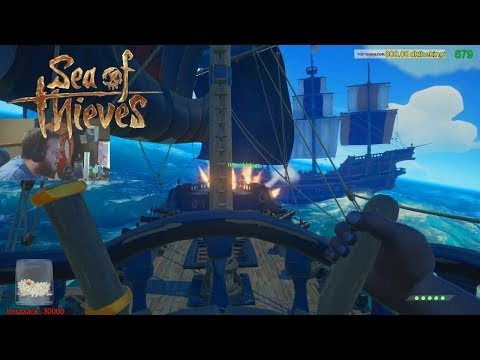 They Dropped Anchor!!! Epic Sea Of Thieves Ship Battles! #1 Ranked Captain Crooked Beard