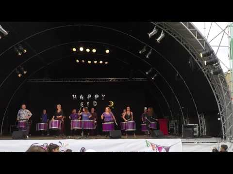 Eid festival i Malmö 2017 - BAM - Batería Malmö, spelar på Eid festival 2017