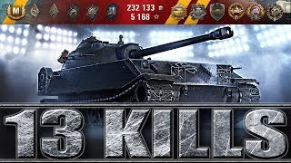 chrysler K GF ПРЕМ танк  13 ФРАГОВ ЗА БОЙ WORLD OF TANKS