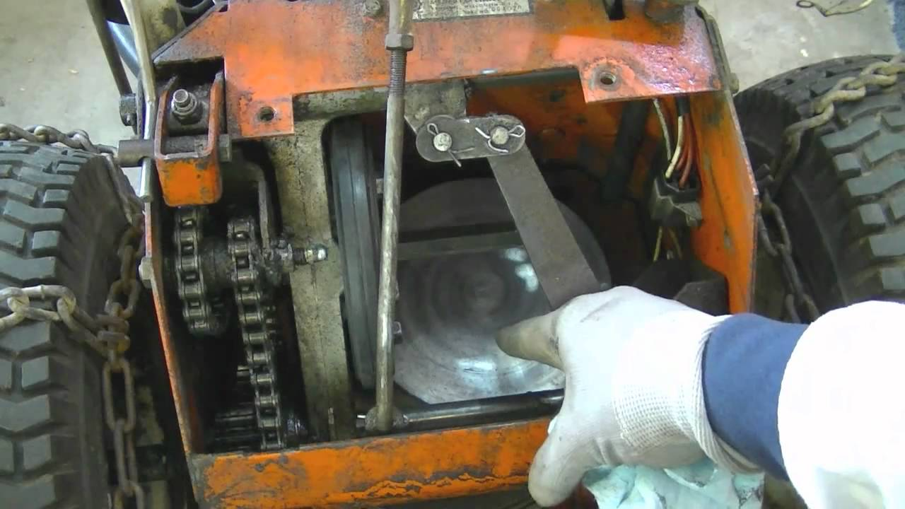 Diy Ariens Snowblower Friction Disc Repair Youtube