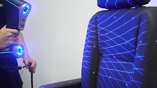 3D scanning of car grille and seat by KSCAN 3D scanner