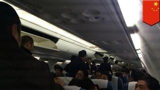 世界で悪評高い中国人観光客のマナー。中国の大連から深圳へ向かう飛行...