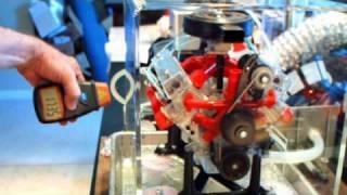 Visible V8 @ 7000 RPM Part 2 (failure)