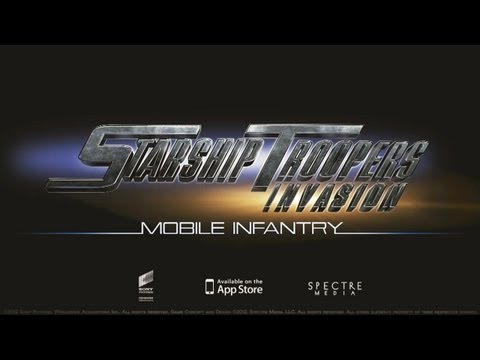 "Official Starship Troopers: Invasion ""Mobile Infantry"" Launch Trailer"