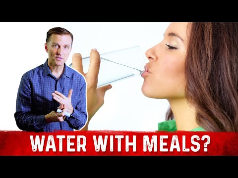 Should You Drink Water With Your Meal or Not?