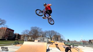 Going So Much Higher Then This Skatepark Was Designed For!