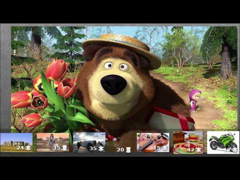Маша и Медведь Masha and The Bear   Маша плюс каша 17 Серия