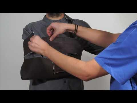 Cómo poner el cabestrillo inmovilizador hombro toráx 69894885d548