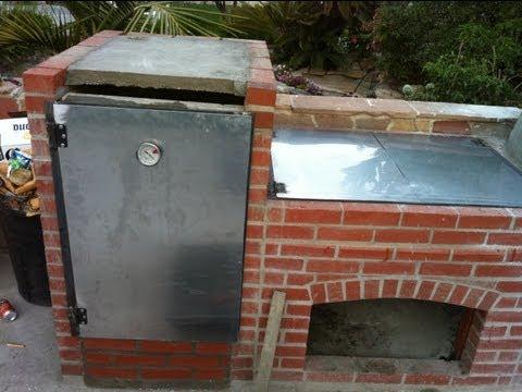 Construccion de parrilla y horno