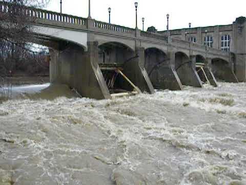 High waters in Fort Wayne