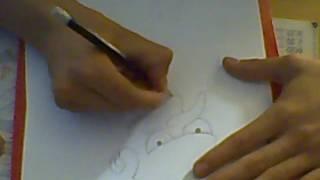 comment dessiner m.burns