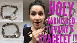 Tarnished Tiffany's Bracelet! How I Got It Sparkling