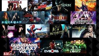 Upcoming Superhero Movies Announced 2018-2020 (Marvel, DC, Fox, Sony)