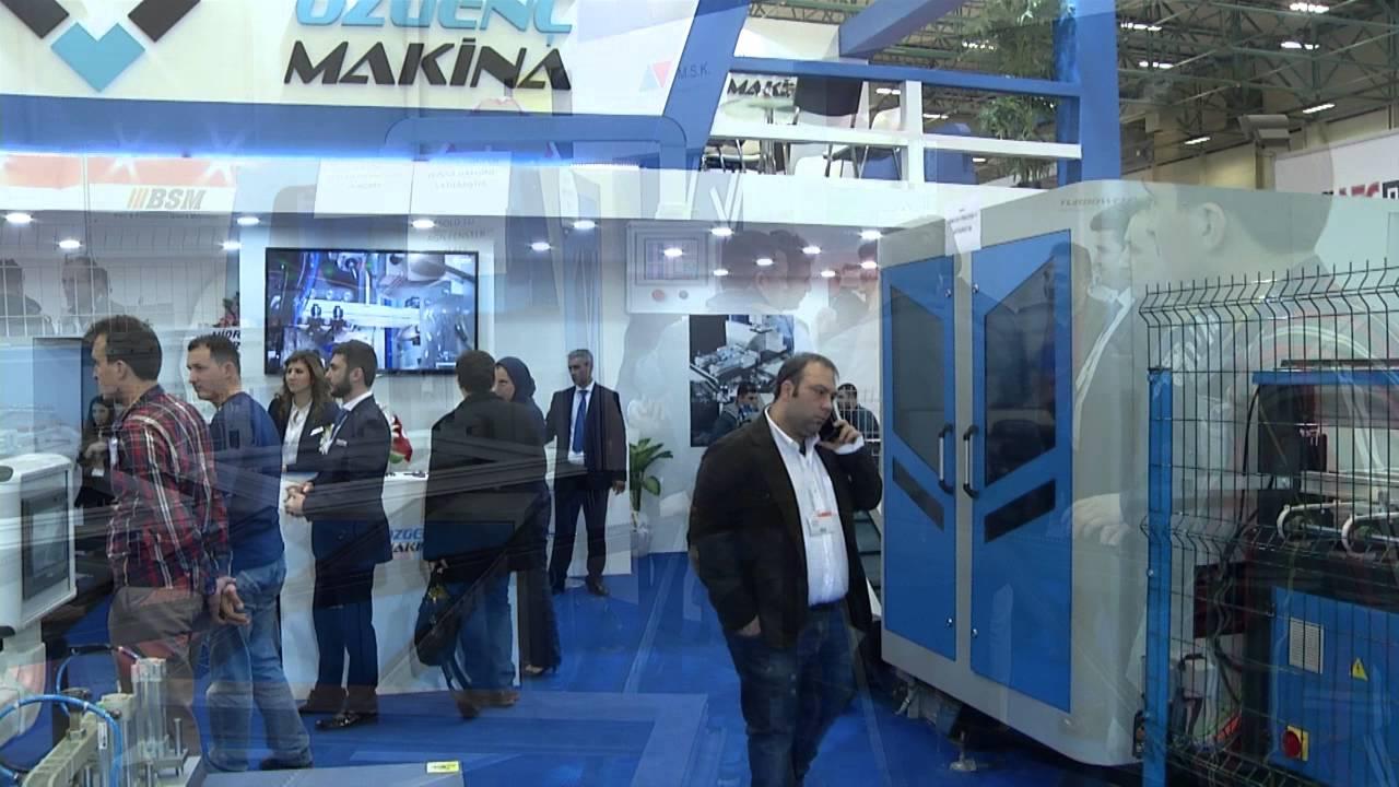 Ozgenc Machinery Istanbul TUYAP Windows Doors PVC Aluminium Profiles  Exhibition 2016