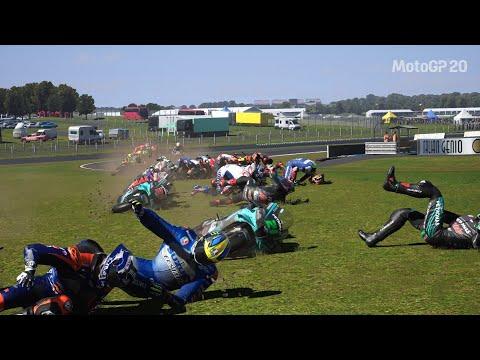 MotoGP 20 How To Make All Riders Crash In 1 Corner (Tutorial)